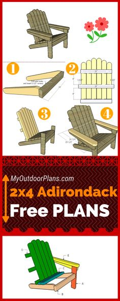 step by step diy woodworking project is about 24 adirondack chair plans. I continue the 24 series of projects, with this super straight-forward adirondack chair. This outdoor chair is sturdy, easy to build and it features a modern design. Beginner Woodworking Projects, Popular Woodworking, Fine Woodworking, Woodworking Crafts, Woodworking Bench, Woodworking Machinery, Woodworking Classes, Woodworking Logo, Woodworking Workshop