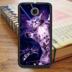 Laser Kitty Space Nexus 6 Case
