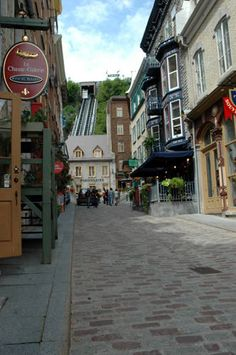 Old Quebec City, Quebec Canada (this is where my desire to visit Europe began.)