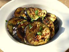 BBQ aubergine, IBS, FODMAP recipe