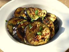 BBQ aubergine, IBS, FODMAP recipe