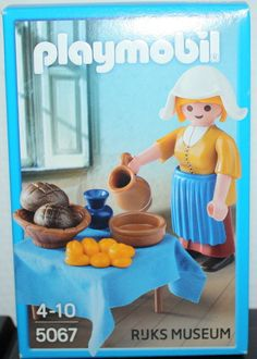 Playmobil 5067 Vermeer Painting The Milkmaid Ruks Museum Special Edition