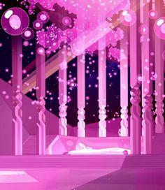 Steven Universe Background, Steven Universe Wallpaper, Perla Steven Universe, Steven Universe Diamond, Wallpapers Wallpapers, Universe Art, Landscape Art, Oeuvre D'art, Cartoon Network