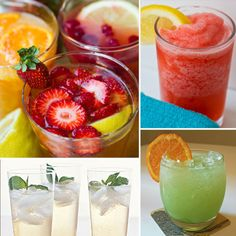 Drink Up: 7 Healthy Mocktail Recipes- Must Happen. Always craving delicious drinks but not much of a fan for certain liquors. Check out Dieting Digest Healthy Cocktails, Fruity Drinks, Summer Drinks, Fun Drinks, Beverages, Refreshing Drinks, Party Drinks, Smoothies, Smoothie Drinks