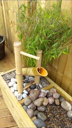 Shishi Odoshi aka 'Kill Bill 2' water feature. #jardinesdeagua