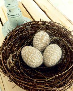 He is Risen Eggs