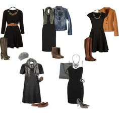 Tips for making an LBD look amazing! How about a neutral mix?