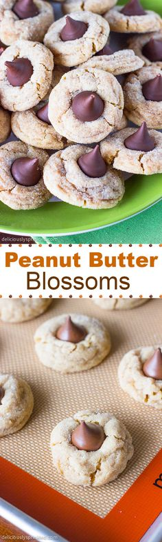 The BEST Peanut Butter Blossoms recipe you will ever need!