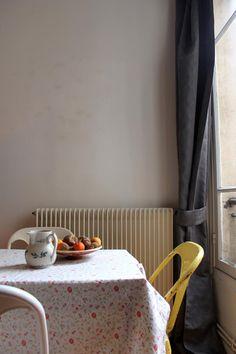 Julie's Vermeer-Worthy Apartment in Paris — House Tour