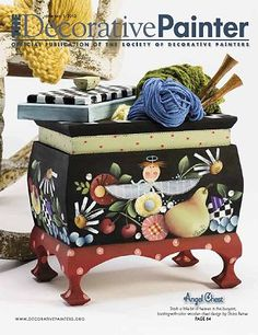 A favorite magazine and a must read for the decorative painter