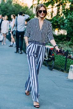 stripes on stripes // #style