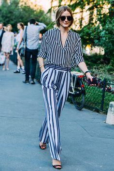 stripes on stripes // #style