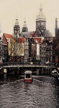 Amsterdam, The Netherlands. Sweet baby Jesus it's so beautiful it makes my soul ache.