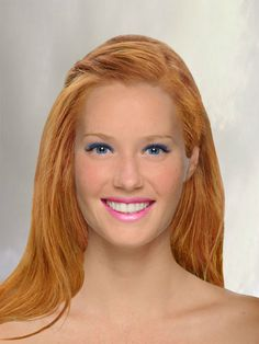 Natural Redhead, Beautiful Redhead, Virtual Makeover, Try On Hairstyles, Ginger Girls, Alyssa Milano, Color Blending, Shades Of Red, Redheads
