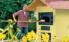 Brotback-Ofen, Pizza-Ofen bauen: Frisches Brot oder knusprige Pizza bereiten Sie in diesem Holzofen zu. Wir zeigen Ihnen den Aufbau des Holzbackofens