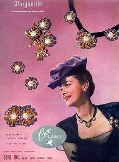 vintage 1940s suit jewelry - Google Search
