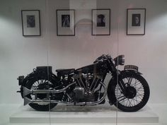 GW 2275 , Brough Superior  SS100 owned byT.E. Lawrence ( Lawrence of Arabia )