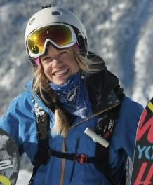 Claire McGregor - Brilliant Kiwi Snowboarder based in Verbier that competes on the Freeride World Qualifier tour