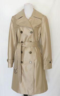 Burberry London Tan trench coat