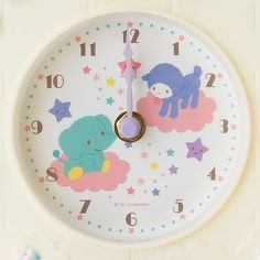 【2015.10.21】★Clock ★ 4,860円(税込), 30x26x7cm, 中国製 ★ #LittleTwinStars