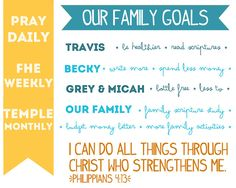 Baby Making: Family Goals Template Download