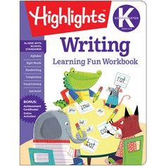 Learning Fun Workbooks Writing Highlights