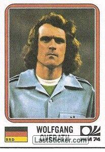 Sticker 96: Wolfgang Overath - Panini FIFA World Cup Munich 1974 - laststicker.com