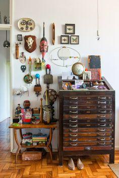 Tendência no décor – motivos africanos e sul americanos