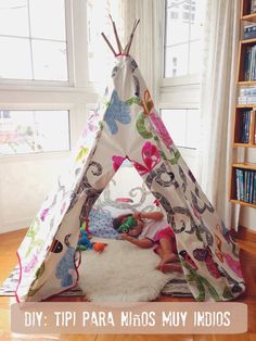 Jay D'Event Stylist By:arncamugao design Diy Teepee, Teepee Party, Teepee Kids, Teepees, Baby Room Art, Baby Room Decor, Indoor Tent For Kids, Indoor Tents, Teepee Tutorial