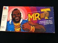 Vintage Mr. T Board game.