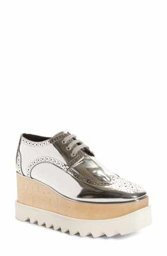 93138285611 Shop the White Elyse Cut Out Shoes by Stella Mccartney at the ...