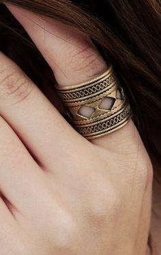 A Peace Treaty Asmat Gold Ring