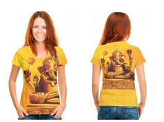 Ganesha - Shirt, Art by Janina Marcos