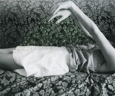 Maria Aparicio Puentes - embroidery on photographs