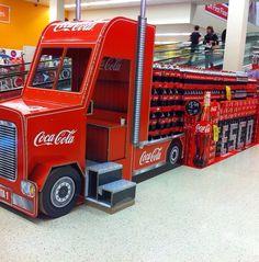 Coca Cola Truck POS