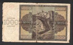 1936 billete 1000 pesetas