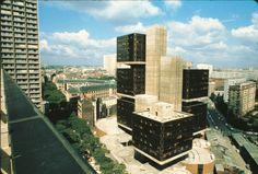 Faculté de Tolbiac, Paris  Pierre Parat, 1970-72