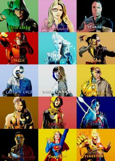 Legends of Super Flarrow ~ Comic book vs Show #DC