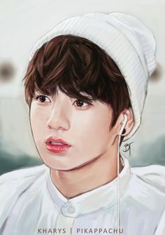 Find images and videos about kpop, bts and jungkook on We Heart It - the app to get lost in what you love. Jungkook Fanart, Bts Jungkook, Fanart Bts, Taehyung, Foto Bts, K Pop, Jin, Saranghae, V Chibi