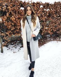 """9,317 Likes, 80 Comments - Annie Jaffrey (@anniejaffrey) on Instagram: """"A new style video is up on my channel! I share three winter outfits I've been loving lately  Hope…"""""""