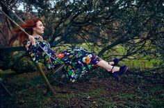 Mercedes Helnwein Modepilot ich Magazin Schaukel