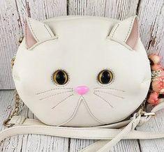 Grumpy Cat Purse - Love Cat Design Cat Purse, Unique Bags, Small Handbags, Grumpy Cat, Cat Design, Kawaii Fashion, Cat Lady, Cat Lovers, Purses And Bags
