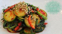 Cucumber Kimchi Salad Recipe : Quick Cucumber Kimchi