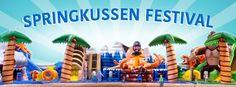 Springkussenfestival voor volwassenen