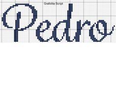 Pedro Patches, Cross Stitch, Mexico, Proper Nouns, Cross Stitch Love, Cross Stitch Font, Punto De Cruz, Names, Punto Croce