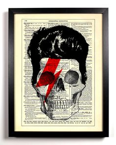 skull. bowie.