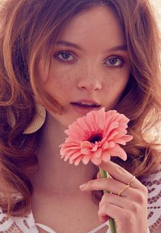 Sweet 70s: A Spring Beauty Editorial - 70s hair and makeup