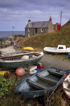 ~Crovie Aberdeenshire Scotland~