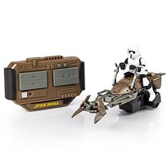 Air Hogs Star Wars Remote Control Speeder Bike Zig zag through the forests of Endore at top speed with the iconic Star Wars Speeder Bike from Air Hogs! Star Wars Sound Effects, The Force Star Wars, Drone For Sale, Bike Reviews, Ewok, Star Wars Collection, Remote Control Toys, Kids Store, Christmas Toys
