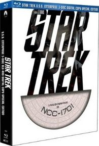 The most logical Star Trek Blu-ray Disc display model kit ever made.